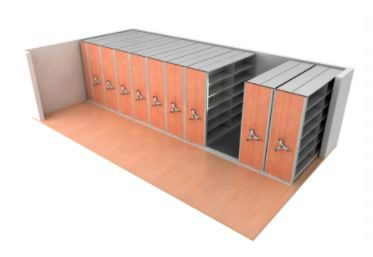 Mobile Shelving System can be easily Extented