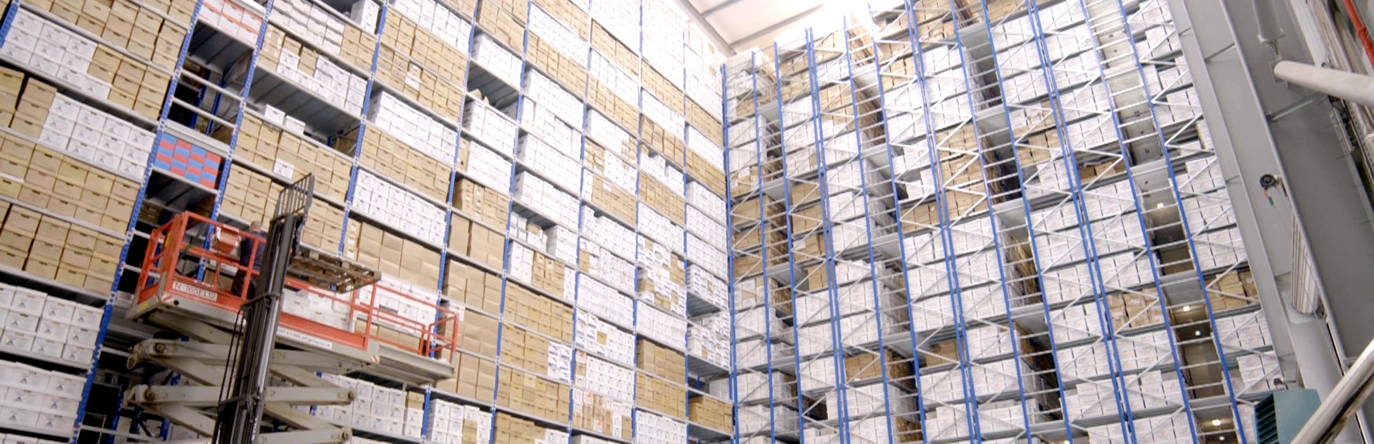 Dataspace UK 7-Tier Archive Storage Facility